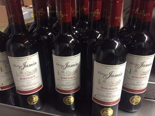 Vignoble Lobre - bouteilles jamin