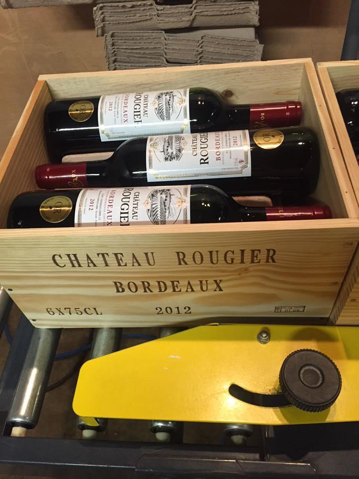 Vignoble Lobre - bouteilles rougier