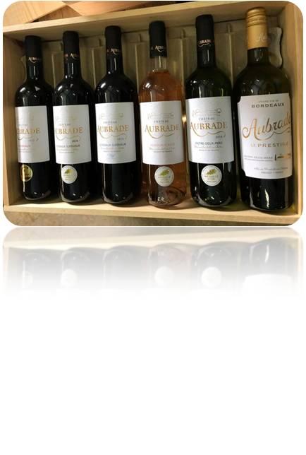 Vignoble Lobre - caisses bois bouteilles